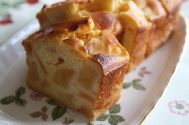 米粉のりんごのパウンドケーキ
